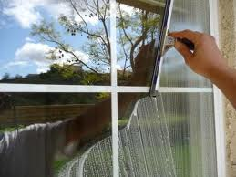 - Commercial window washing and building maintenance